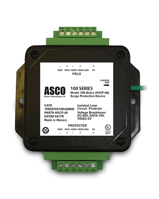 ITS ASCO Model 159 (Edco HVCP Series) Surge Protective Device