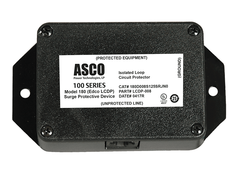 ITS ASCO Model 180 (Edco LCDP Series) Surge Protective Device