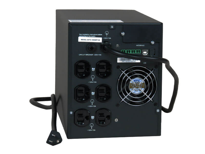 ITS Liebert GXT3 UPS, 1,000VA, Micro-Tower