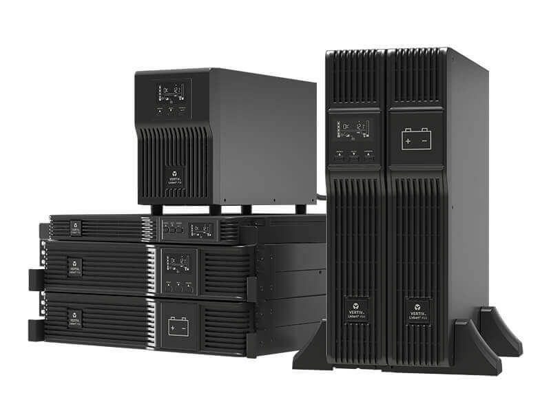 ITS Vertiv™ Liebert® PSI5 UPS, 750-5,000VA Line Interactive AVR, Mini Tower, 1U and 2U Rack/Tower